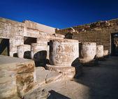 Luxor, Medinet Abu Temple ruins — Stock Photo