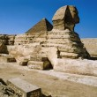 Sphinx and Cheops Pyramid — Stock Photo #53805727