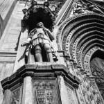 View of S. Francesco Temple facade — Stock Photo #53989291