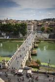 Italy, Rome, view of the Tevere River — Stock Photo