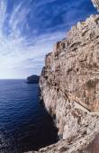 Capo Caccia promontory — Stock Photo