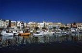 Fiskebåtarna i hamnen — Stockfoto