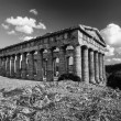 Italy, Sicily, Segesta, Greek Temple — Stock Photo #56605709