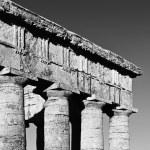 Italy, Sicily, Segesta, Greek Temple — Stock Photo #56605949