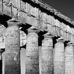 Italy, Sicily, Segesta, Greek Temple — Stock Photo #56605983