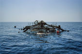 Italy, Campania, Tyrrhenian Sea — Stock Photo