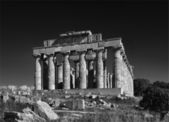 Greek Hera Temple (409 b.C.) — Stock Photo