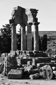 Castore and Polluce Temple (Hera Temple) — Stockfoto