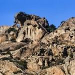 Sardinia, eroded rocks — Stock Photo #57302009