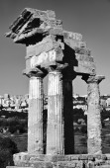 Castore and Polluce Temple (Hera Temple) — Stock Photo