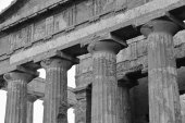 Greek Temples Valley, The Concord Temple — Stock Photo