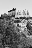 Greek Temples Valley, Juno Temple — Stock Photo