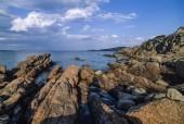 Sardinia,  rocky coastline — Stock Photo