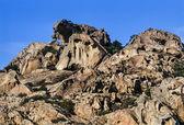 Sardinia, eroded rocks — Stock Photo