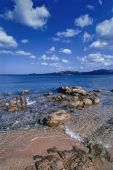 Sardinia,  rocky coastline — Stock Photo