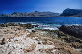 Sicilian rocky coastline — Stock Photo
