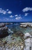 Sicilian rocky coastline — Stock Photo
