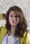 Female teenager portrait — Stockfoto