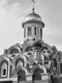 Russian church in a Moscow — 图库照片