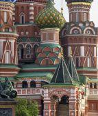 聖バジル大聖堂、モスクワで — ストック写真