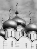 Russian church in Moscow — Stock Photo