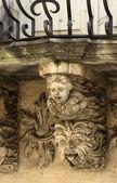 Zacco Palace baroque facade — Stock Photo