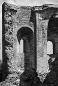 Medieval church ruins — Stock Photo