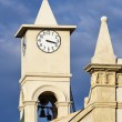 Church's bell tower — Stock Photo #67586603