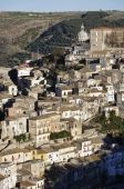 Ragusa Ibla city in Italy — Stock Photo