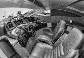 Alfamarine 78 luxury yacht — Stock Photo