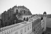 Popolo indiano presso il Palazzo di venti quattro — Foto Stock
