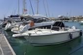Sailing boats in the marina — Stock Photo