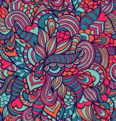 Kleurrijke abstracte naadloze patroon — Stockvector
