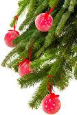 Feliz natal e feliz ano novo — Fotografia Stock