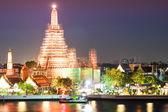 Wat Arun Temple in bangkok twilight Thailand  — ストック写真