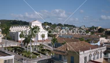 Trinidad şehir kurma — Stok video