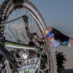 Mountainbike maintenance — Stock Photo #68049133