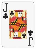 Jumbo index jack of clubs — Cтоковый вектор