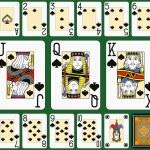 Spades Suite Black Jack large figures — Stock Vector #67893697