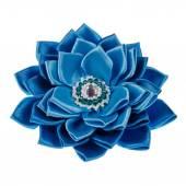 Hergestellt aus Stoff Blume — Stockfoto