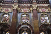 Fragment of interior decoration of Church of Our Lady  — Stockfoto