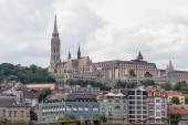 Matthias Church and the Fishermens Bastion — Stock Photo