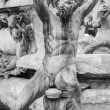 Detail of the Neptune Fountain — Stock Photo #57327965