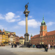 Astle Square with Sigismund's Column — Stock Photo #58228933