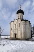 Church on the Nerl — Foto de Stock