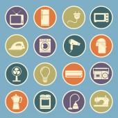 Domácí spotřebiče ikona — Stock vektor