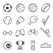 Sport icon — Stock Vector