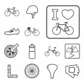 Bicycle icon — Stock Vector