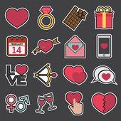 Love icon — Stock Vector