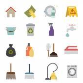 ícone de limpeza — Vetor de Stock